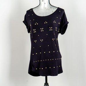 NWOT Point Zero studded T shirt - Medium